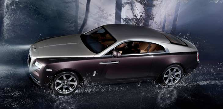 Rolls Royce Wraith delayed convertible
