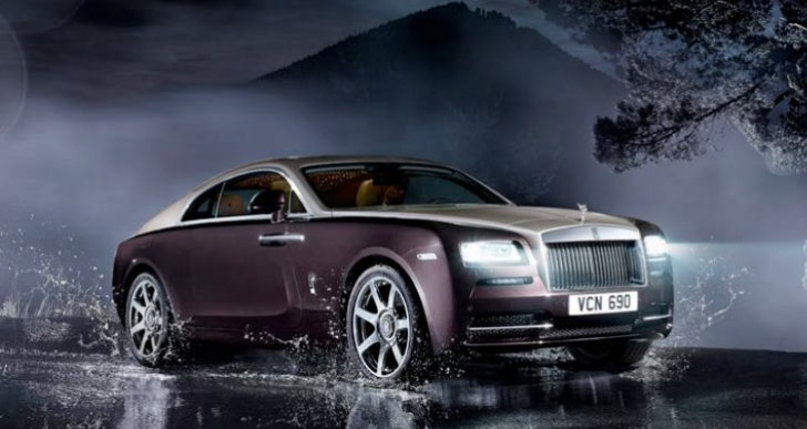 Rolls-Royce Wraith interior and exterior shots explain price