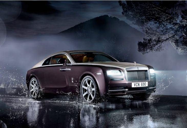 Rolls-Royce Wraith official specs and price 1