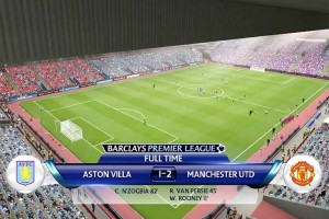 Rooney, Van Persie shine in Aston Villa Vs Man Utd SIM