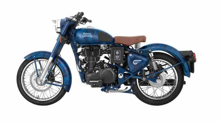 Royal Enfield Despatch booking details
