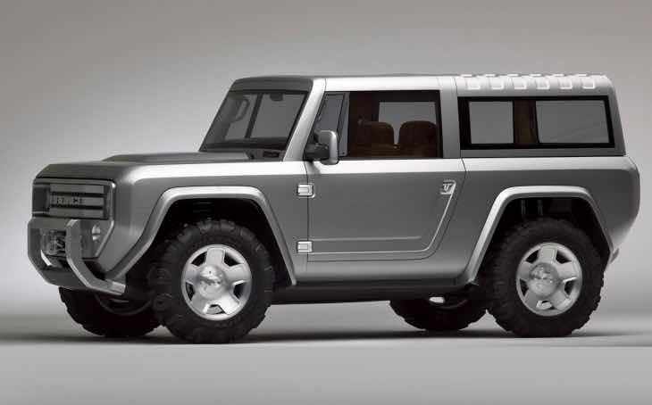 Rumors of 2016 Ford Bronco