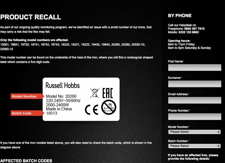 Russell-Hobbs-iron-recall-contact