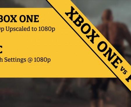Ryse: Son of Rome PC graphics vs. Xbox One