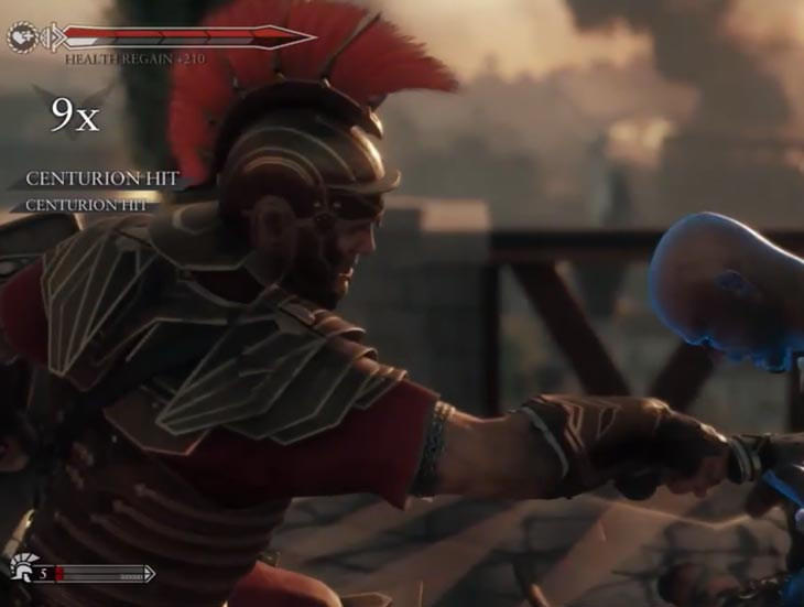 Ryse: Son of Rome not on PS4, reason some go Xbox One