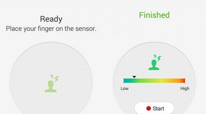 S Health for Galaxy S5 update tracks stress levels