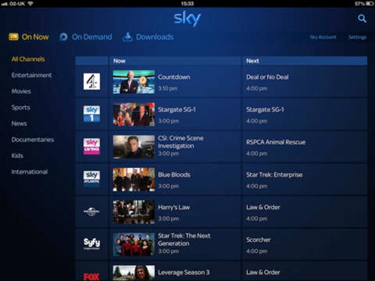 Sky go app needs hd xbox one update product reviews net for Sky sports 2 hd live streaming online free