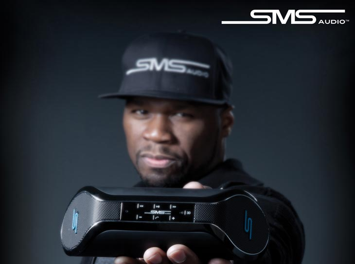 SYNC wireless speaker from Curtis '50 Cent' Jackson