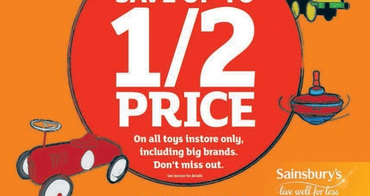 Sainsbury's confirm 2015 toy sale starts today