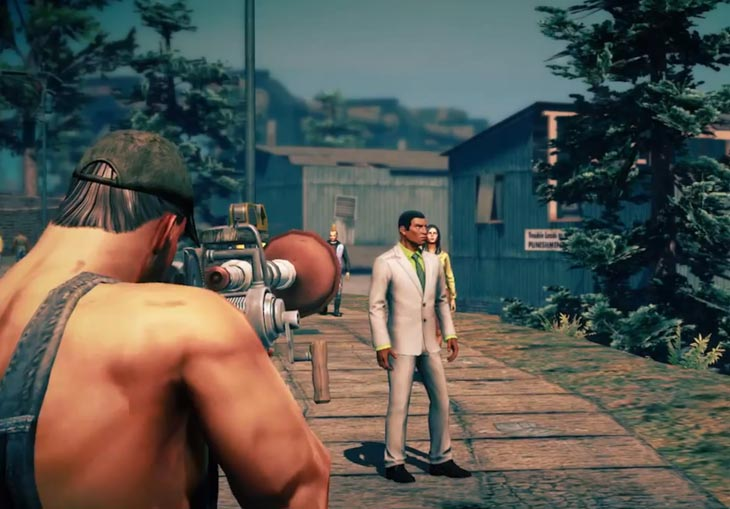 Take to the streets with some Grass Roots weapons in Saints Row 4.