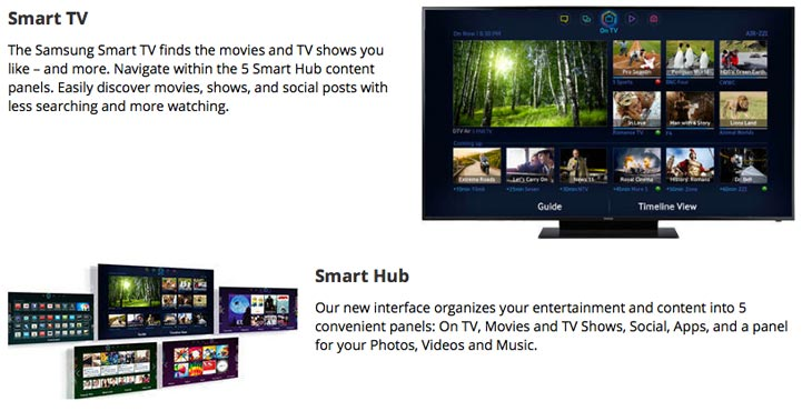 Samsung-75-inch-TV-smart-hub