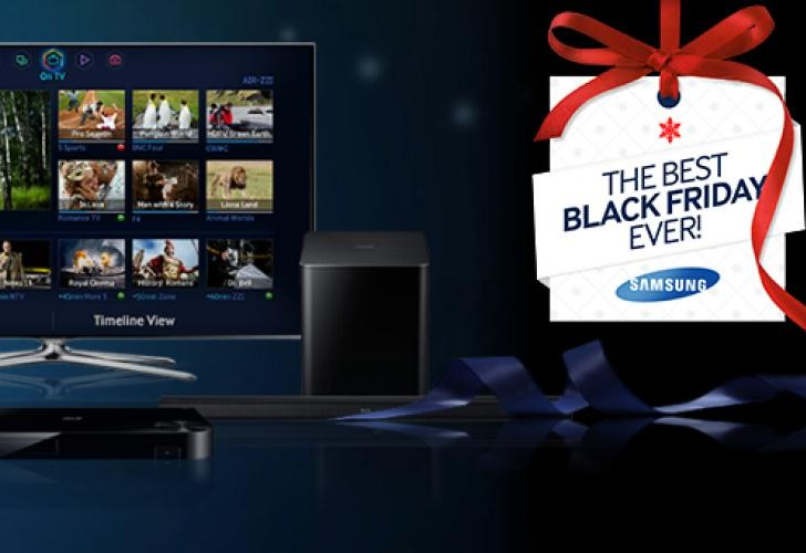 Samsung Black Friday TV deals for 2013