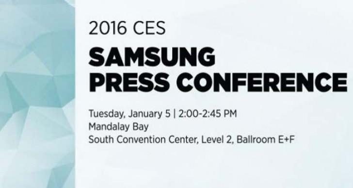 Samsung CES 2016 keynote live stream time today