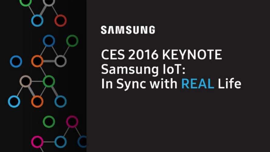 Samsung CES 2016 keynote live