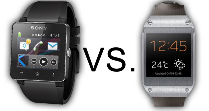 Samsung Galaxy Gear vs. Sony SmartWatch 2 specs