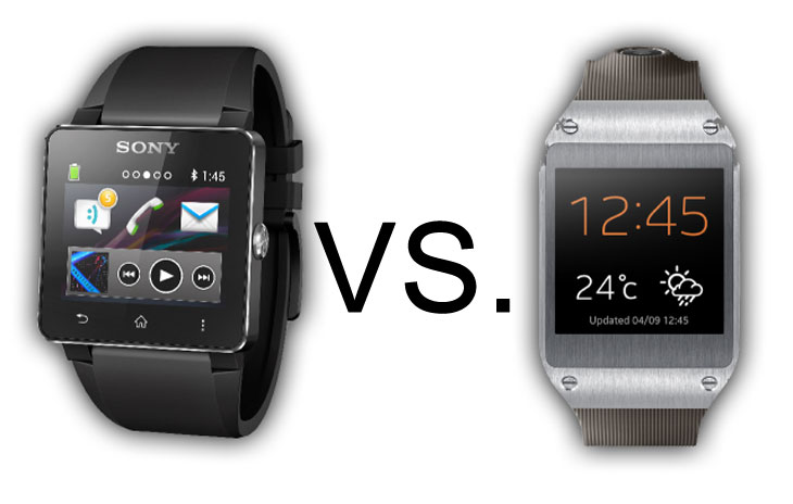 Samsung galaxy gear vs sony smartwatch 2 specs product reviews net