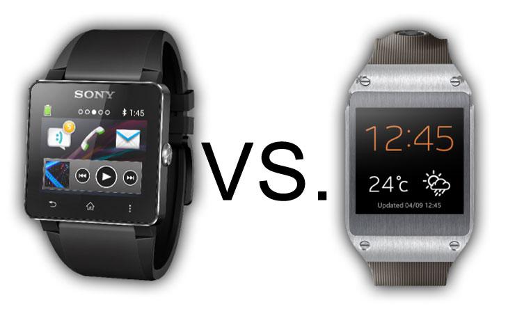 Samsung Galaxy Gear vs. Sony SmartWatch 2 specs – Product ...