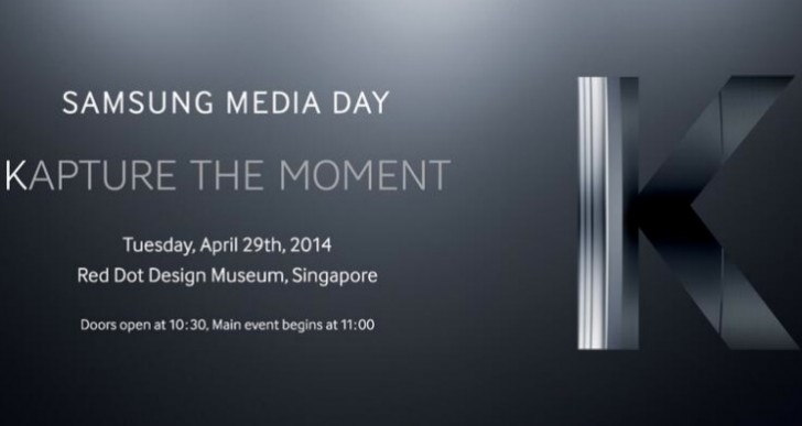 Samsung Galaxy K (S5) Zoom event date in invite