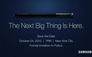 Samsung Galaxy Note 2 NY event follows Windows 8