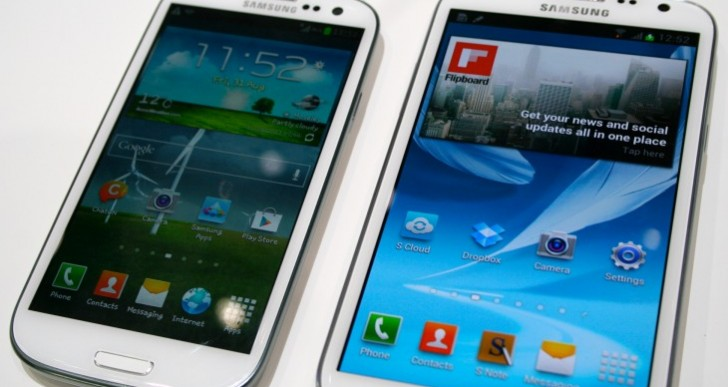 Samsung Galaxy Note 2, S3 Android 4.4 update faith