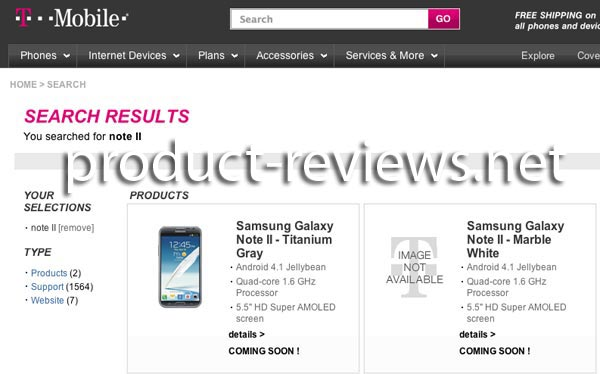 Samsung Galaxy Note 2 teased by US network