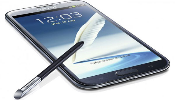 Samsung Galaxy Note 2 vs no.1 in specs