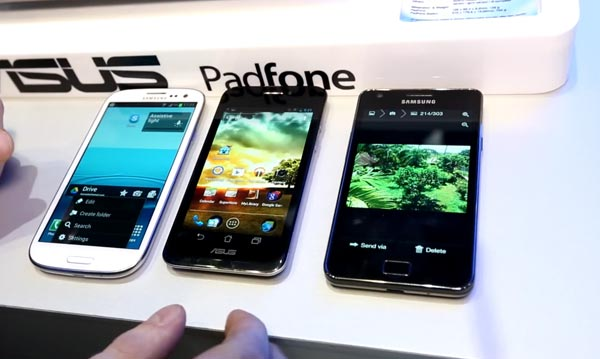 Samsung Galaxy Note 2 vs. alternative from Asus