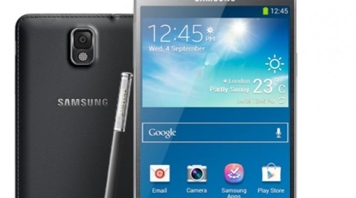 Samsung Galaxy Note 3 lavish price in UK