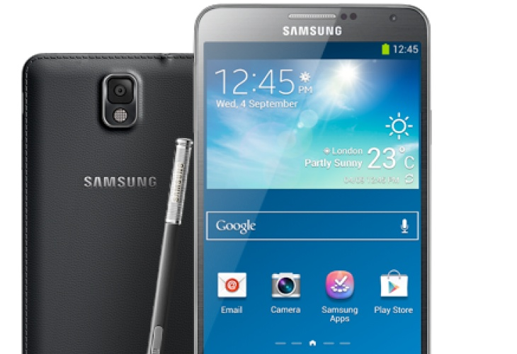 Samsung Galaxy Note 3 lavish price in UK