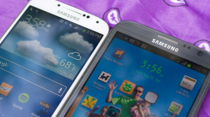 Samsung Galaxy Note 3 vs. LG G2 and Optimus G Pro