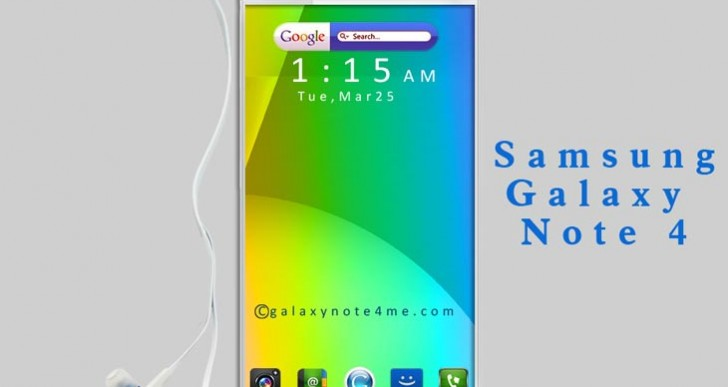 Galaxy Note 4 proposal joins iPhone 6