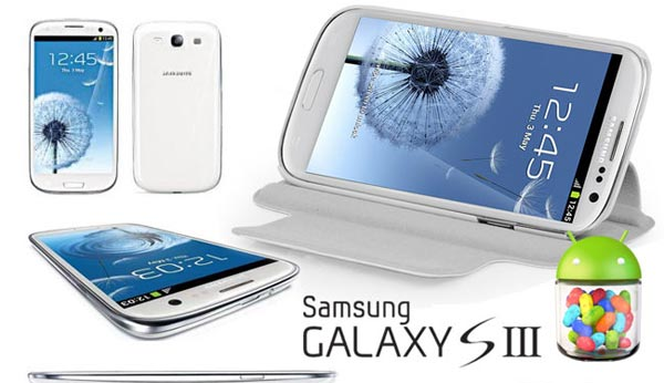 Samsung Galaxy S3 Jelly Bean: O2 issues update 22/10