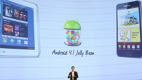 Samsung Galaxy S3 misses Jelly Bean today
