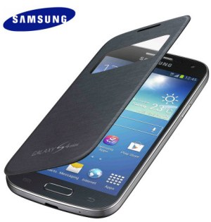 Samsung Galaxy S4 Mini S-View Premium Cover Case