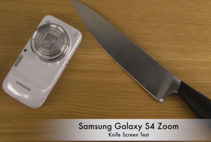 Samsung-Galaxy-S4-Zoom-Knife-Screen-Test