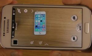 Samsung Galaxy S4 Zoom camera captures iPhone 5