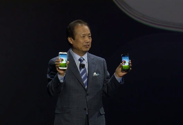 Samsung Galaxy S4 unpacked on stage 3