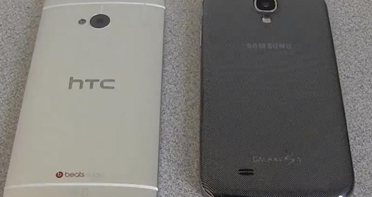 Samsung Galaxy S4 vs. HTC One in three confrontations