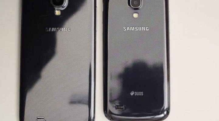 Samsung Galaxy S4 vs. S4 Mini hands-on