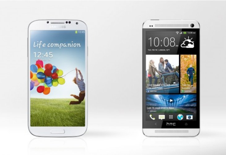 Samsung Galaxy S4 vs. HTC One for professionals
