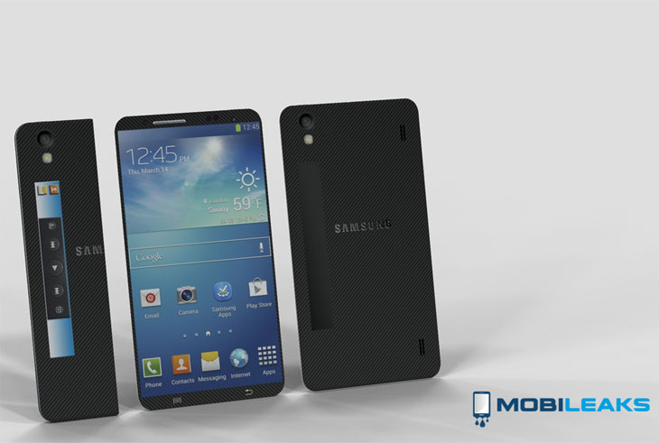 Samsung Galaxy S5 concept with folding specs