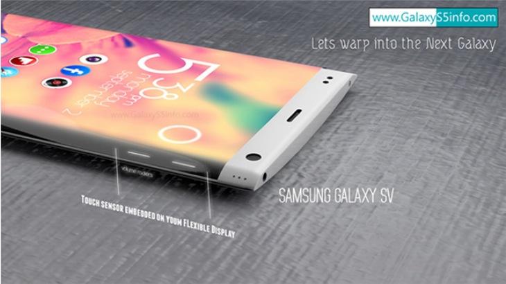 Samsung Galaxy S5 with wraparound