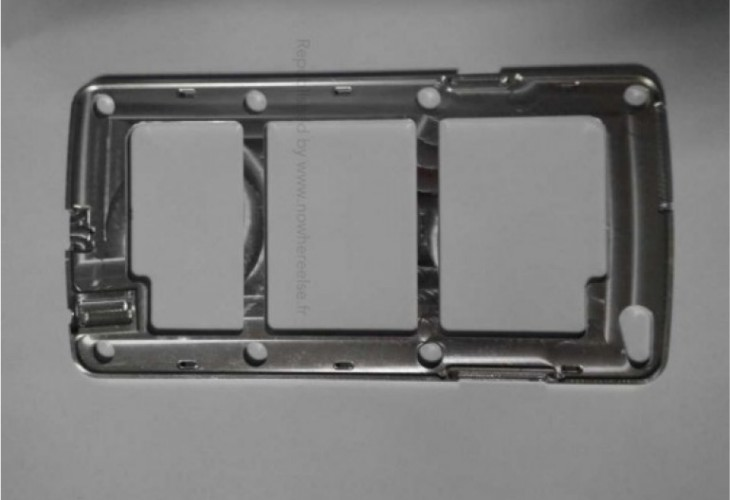 Samsung Galaxy S5 internals signifies departure