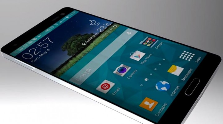 Samsung Galaxy S6 in concept