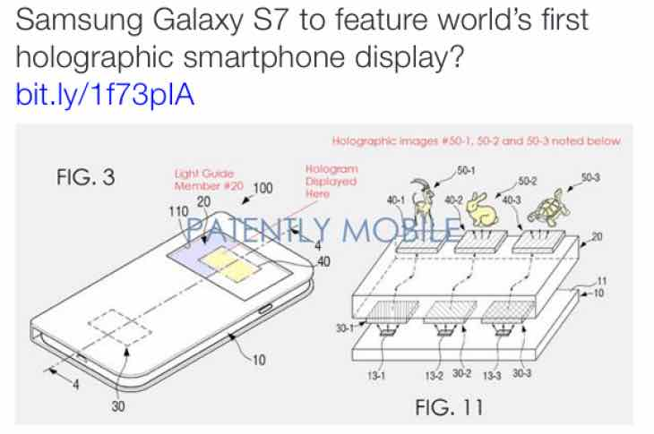 Samsung Galaxy S7 specs envisioned