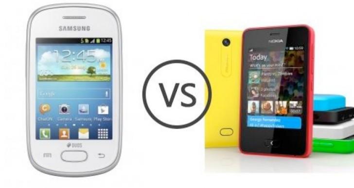 Samsung Galaxy Star Duos vs. Nokia Asha 501 Dual