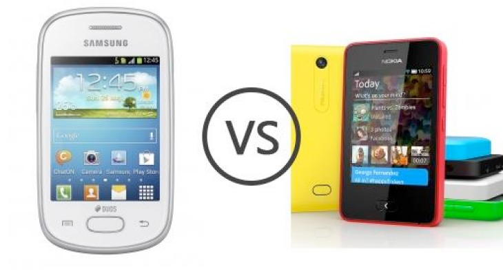 Samsung Galaxy Star Duos vs. Nokia