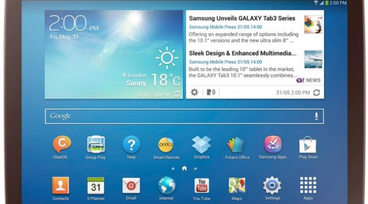Samsung Galaxy Tab 3 10.1 review and sample video