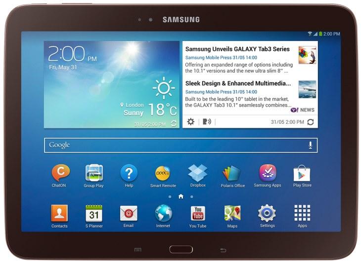 Samsung Galaxy Tab 3 10.1 offers powerfu
