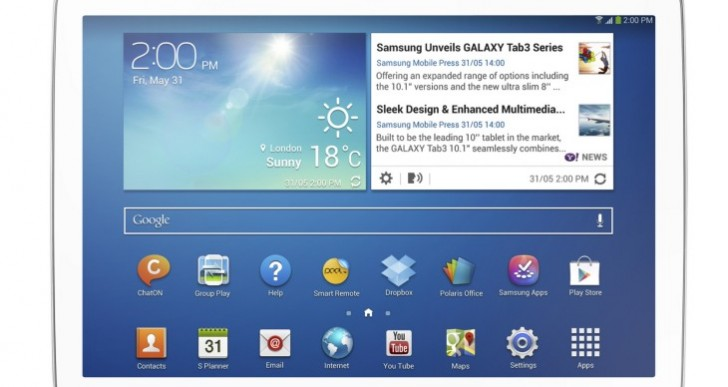 Samsung Galaxy Tab 3 10.1 vs. iPad Air visual review
